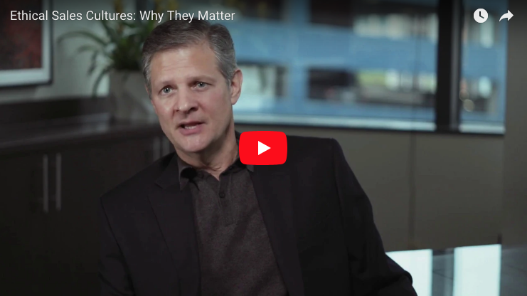 Ethical Sales Cultures: Why They Matter